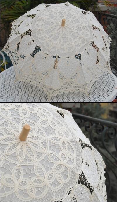 merci 1000 fois - Parapluie Mariage Tati