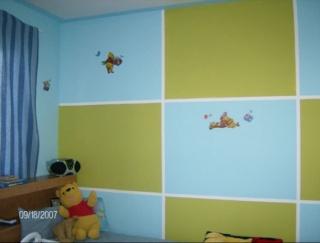 13 chambre enfant anis et turquoise peinture enfant chambre garcon - Peinture Enfant Chambre Garcon