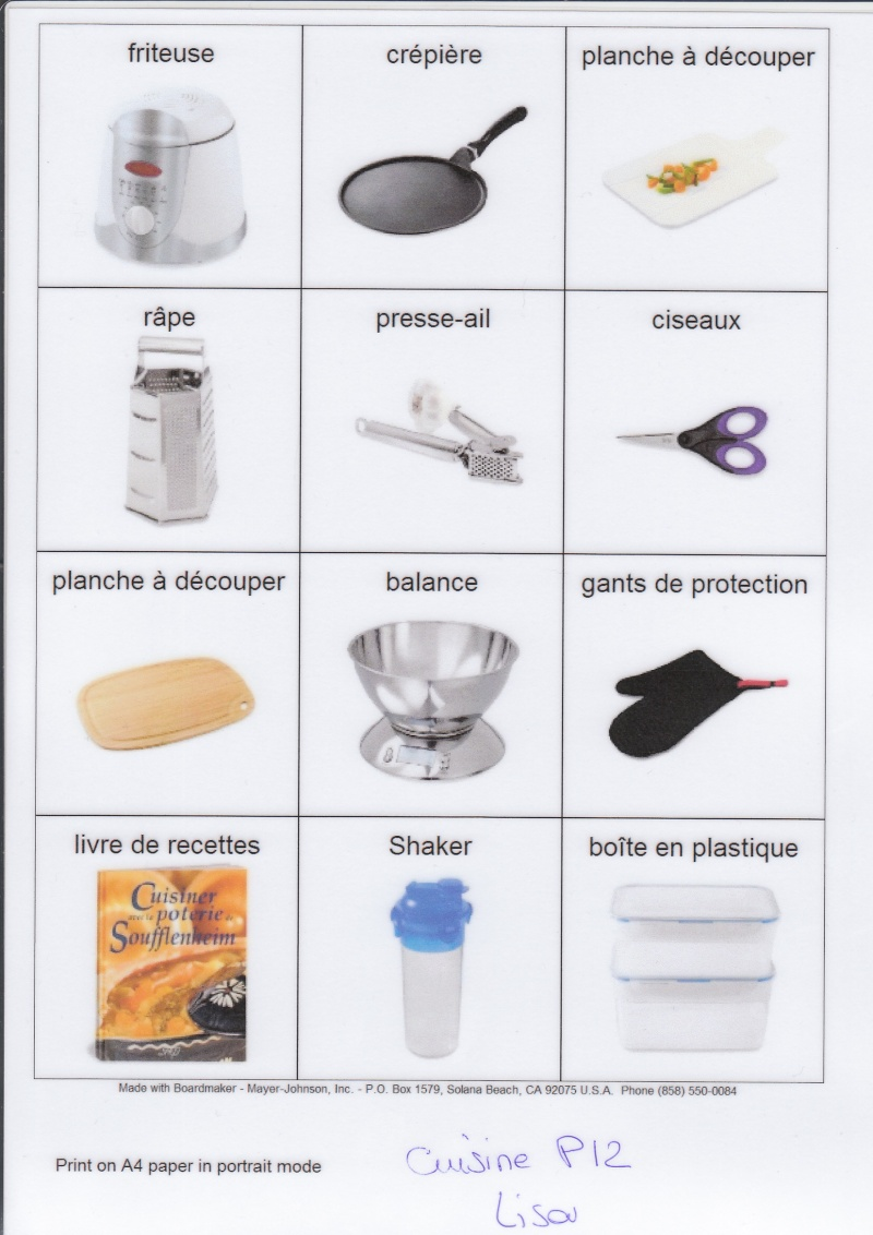 1000 images about ducatif activit s autonome on pinterest - Article de cuisine ...