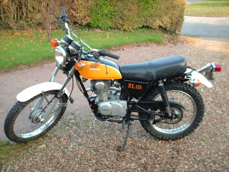 honda 125 xl 1977. Black Bedroom Furniture Sets. Home Design Ideas