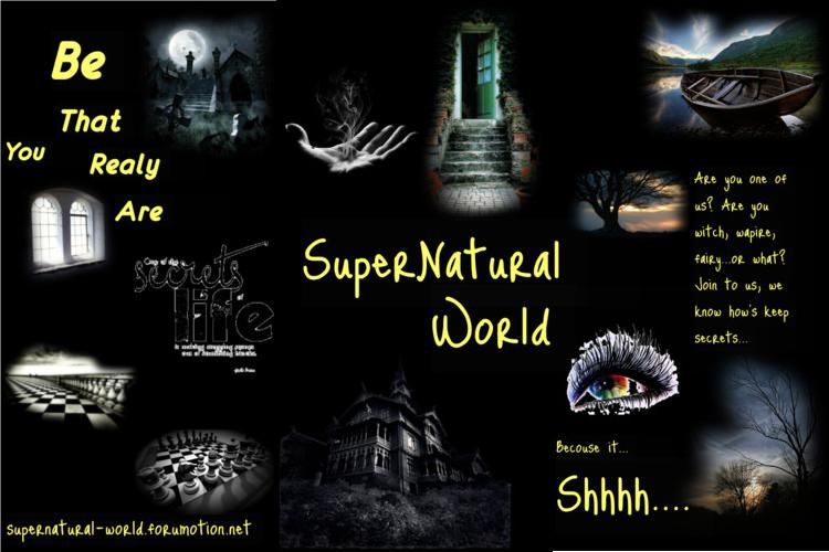 Supernatural - World