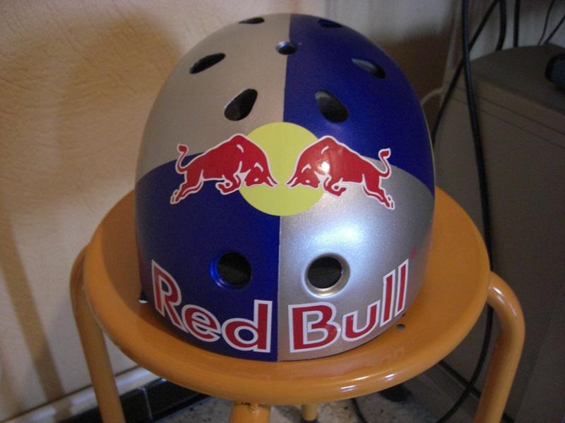 Casque Bol Red Bull Vtt Passion Moto Et Voyage