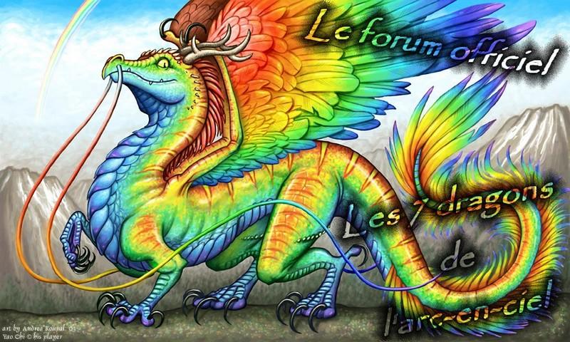 Les 7 dragons de l 39 arc en ciel - Dragon arc en ciel ...
