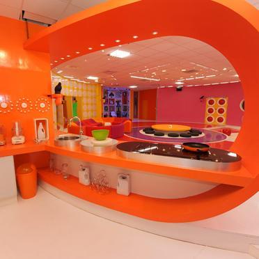 Id es d co jessica harmonise les couleurs for Cuisine futuriste