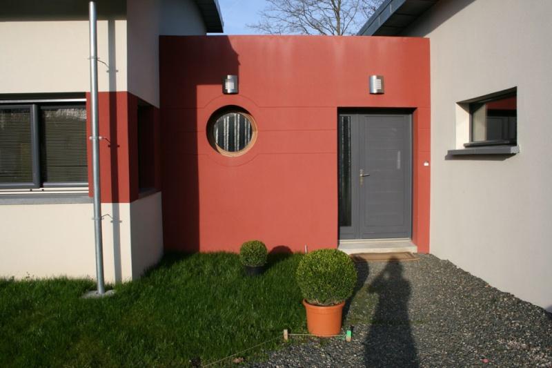 Entr e ext reiure maison contemporaine - Entree exterieure maison contemporaine ...
