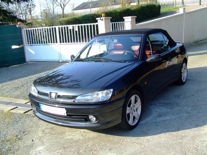 Black chrom peugeot 306 cab pr paration compl te for Interieur cuir 306 cabriolet