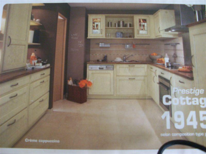 Cuisine couleur beige meubles cuisine beige quelle for Catalogue faience cuisine