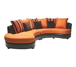 Canap orange conforama univers canap for Canape 89 euros conforama